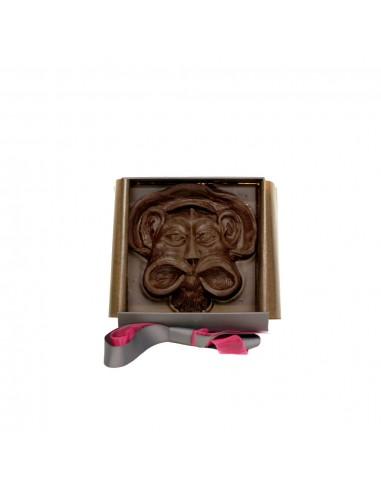 Mascarons de Bordeaux en chocolat...